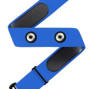 רצועת דופק (ללא חיישן) תואמת GARMIN POLAR ו WAHOO – צבע כחול
