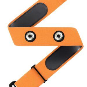 רצועת דופק (ללא חיישן) תואמת GARMIN POLAR ו WAHOO – צבע צהוב
